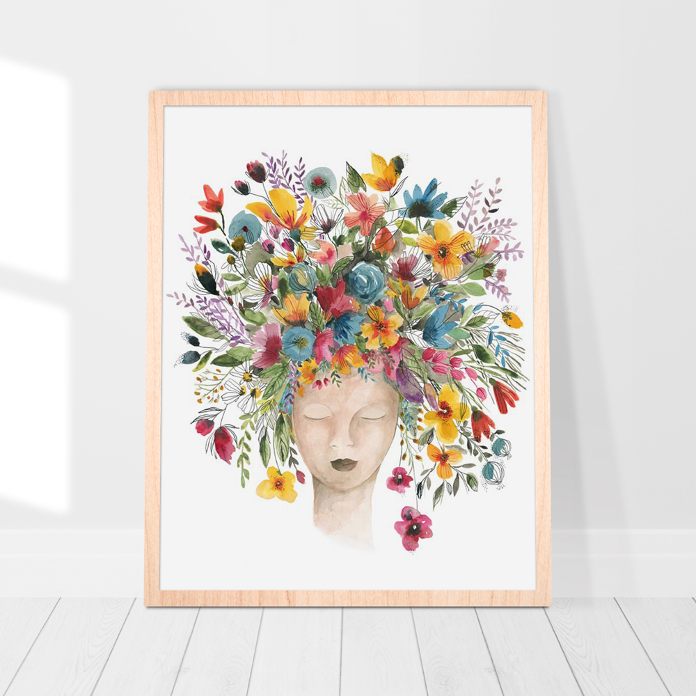Mother nature wall art print