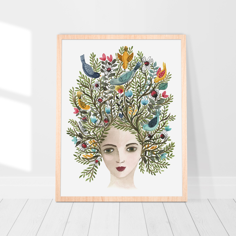Mother earth print