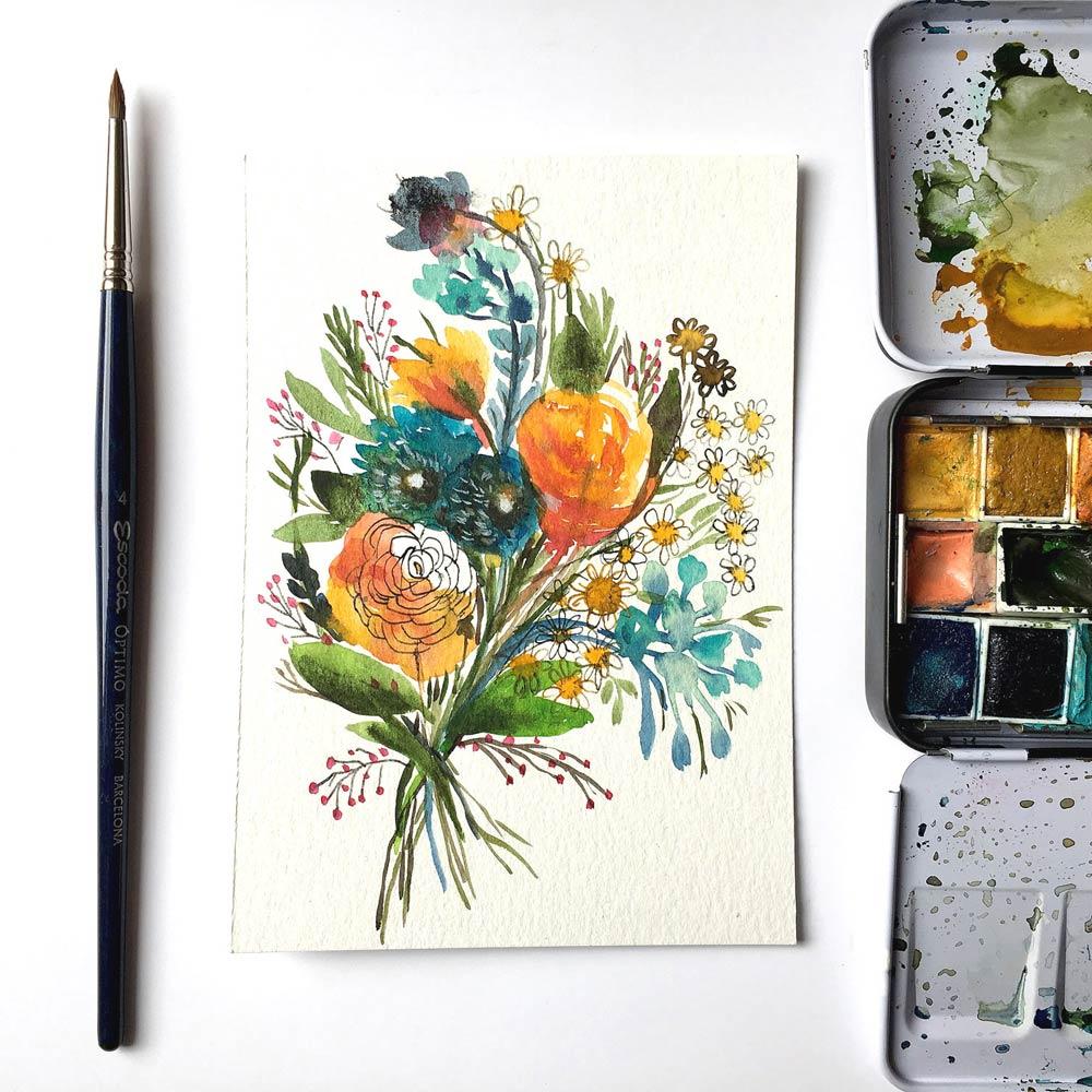 Flowers original #1