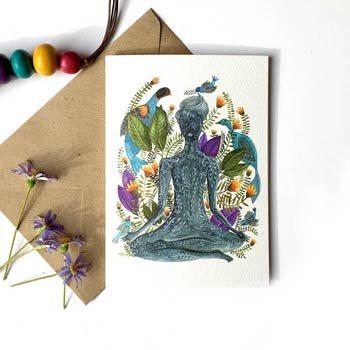 Inner Yoga greeting card