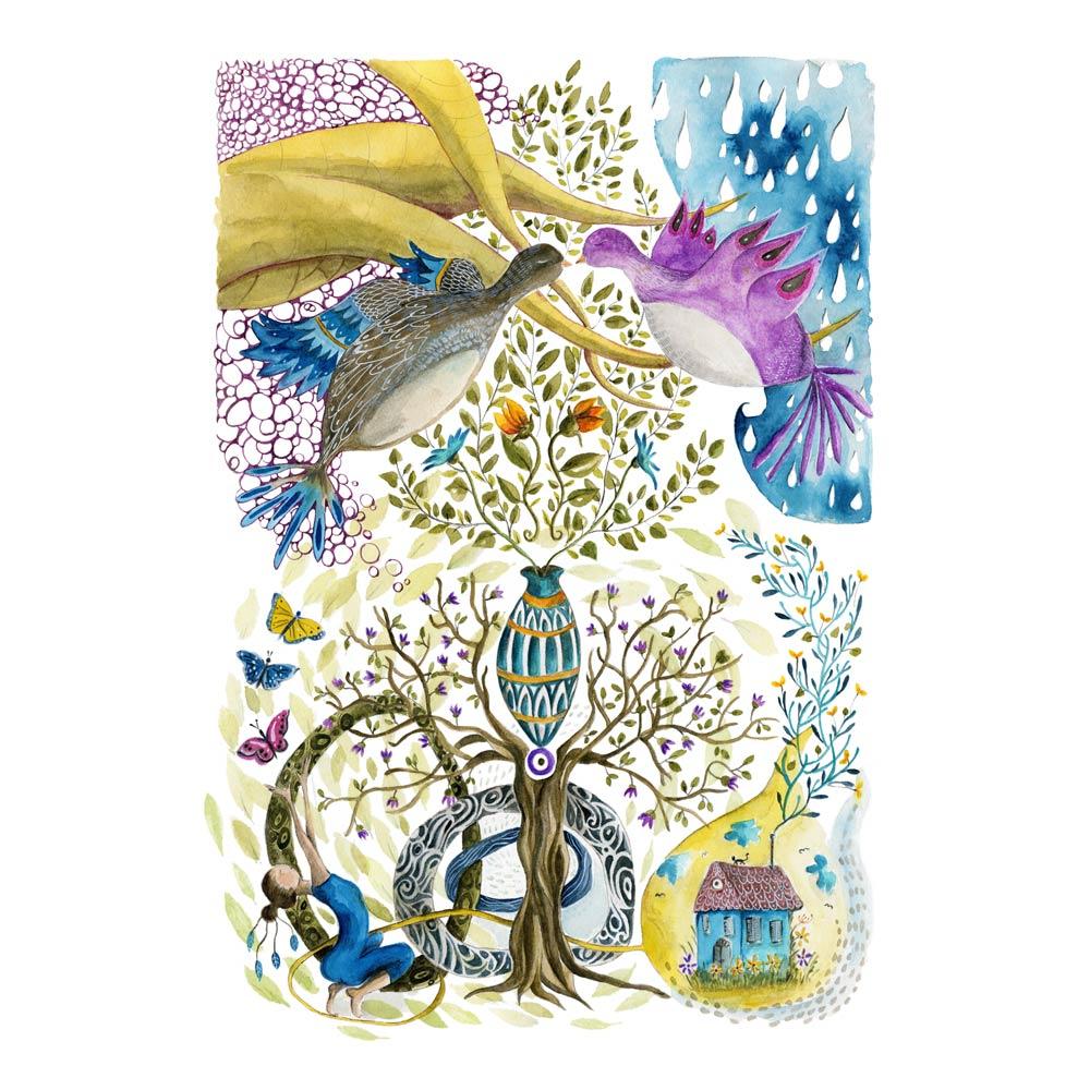 Spring Euphoria illustration